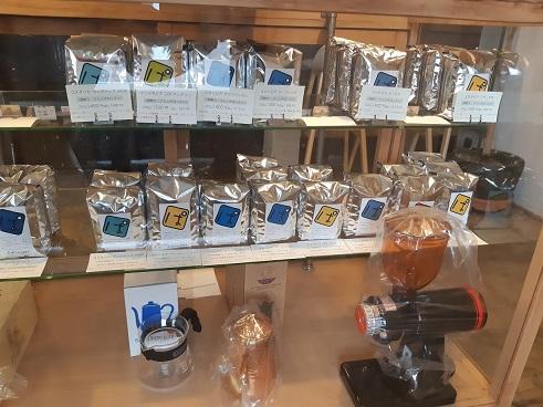 パンダコーヒーのコーヒー豆