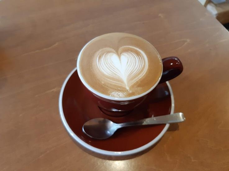 ノートコーヒーのカプチーノ